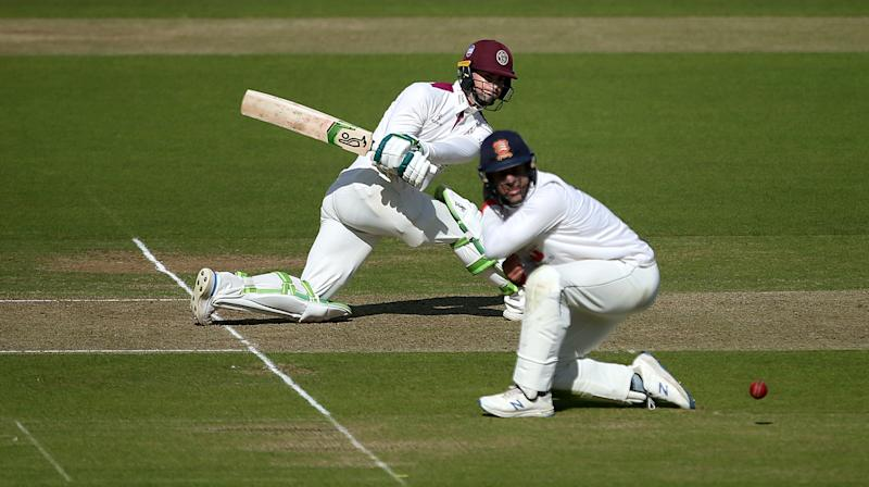 Eddie Byrom completes Bob Willis Trophy final century as Somerset take charge