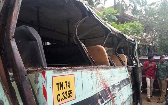 Tamil Nadu: Reckless driving claims lives of 4 schoolgirls, 15 injured