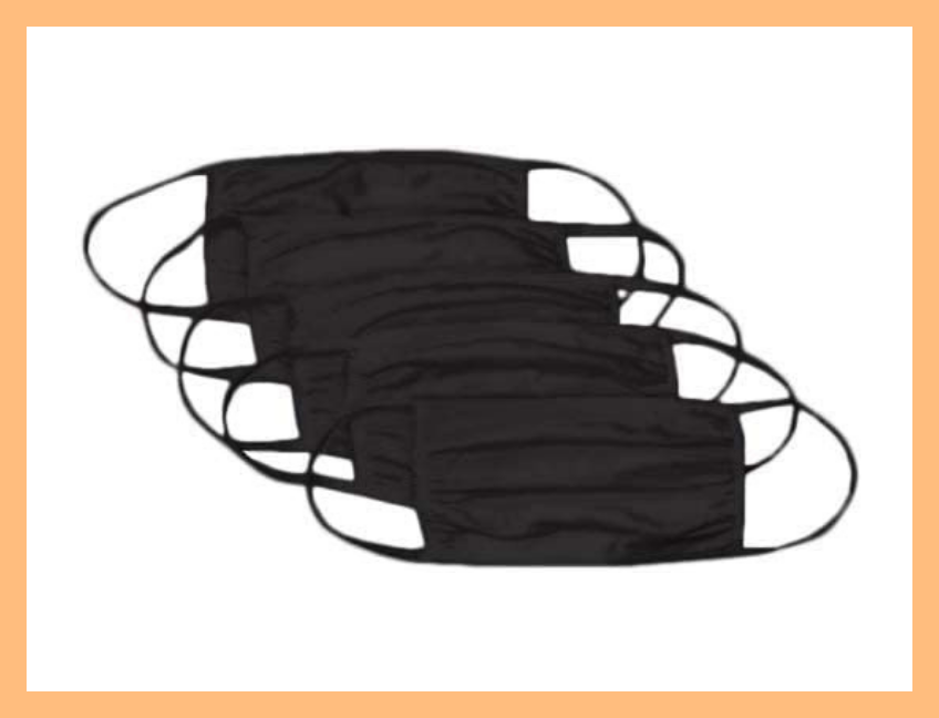 Save $9 on these WD 37U Reusable Cotton Face Mask (50-pack). (Photo: Amazon)