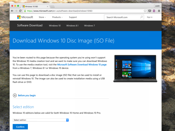 how to find windows 10 installer files on windows 7