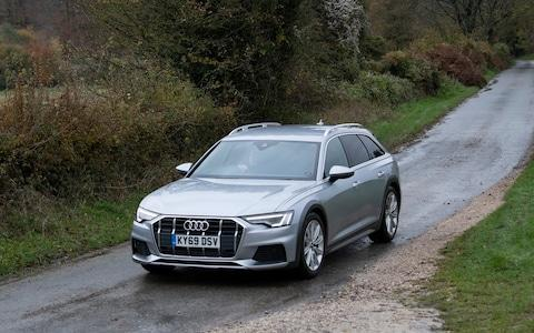 James Foxall test drives an Audi A6 in Sussex Monday Nov. 18, 2019. Picture by Christopher Pledger for the Telegraph - Credit: Christopher Pledger