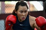 Yan Xiaonan is hoping to set up an all-Chinese UFC title fight with Zhang Weili