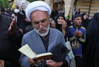 Every year, Shiite pilgrims converge on the holy cities of Najaf and Karbala (AFP/Mohammed SAWAF)