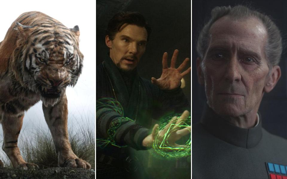 'The Jungle Book', 'Doctor Strange', 'Rogue One' (Credit: Disney)