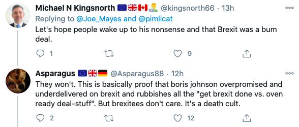 Tweeters were quick to criticise Boris Johnson for his previous comments. (Twitter)