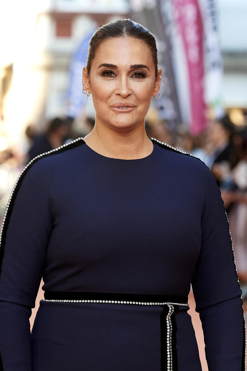 VITORIA-GASTEIZ, SPAIN - SEPTEMBER 03: Vicky Martin Berrocal attends 'Masterchef Celebrity' premiere at Teatro Principal on September 03, 2019 in Vitoria-Gasteiz, Spain. (Photo by Carlos Alvarez/Getty Images)
