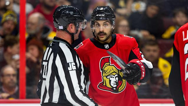 The Ottawa Senators defenceman won't be back until the new year. (Photo by Richard A. Whittaker/Icon Sportswire via Getty Images)