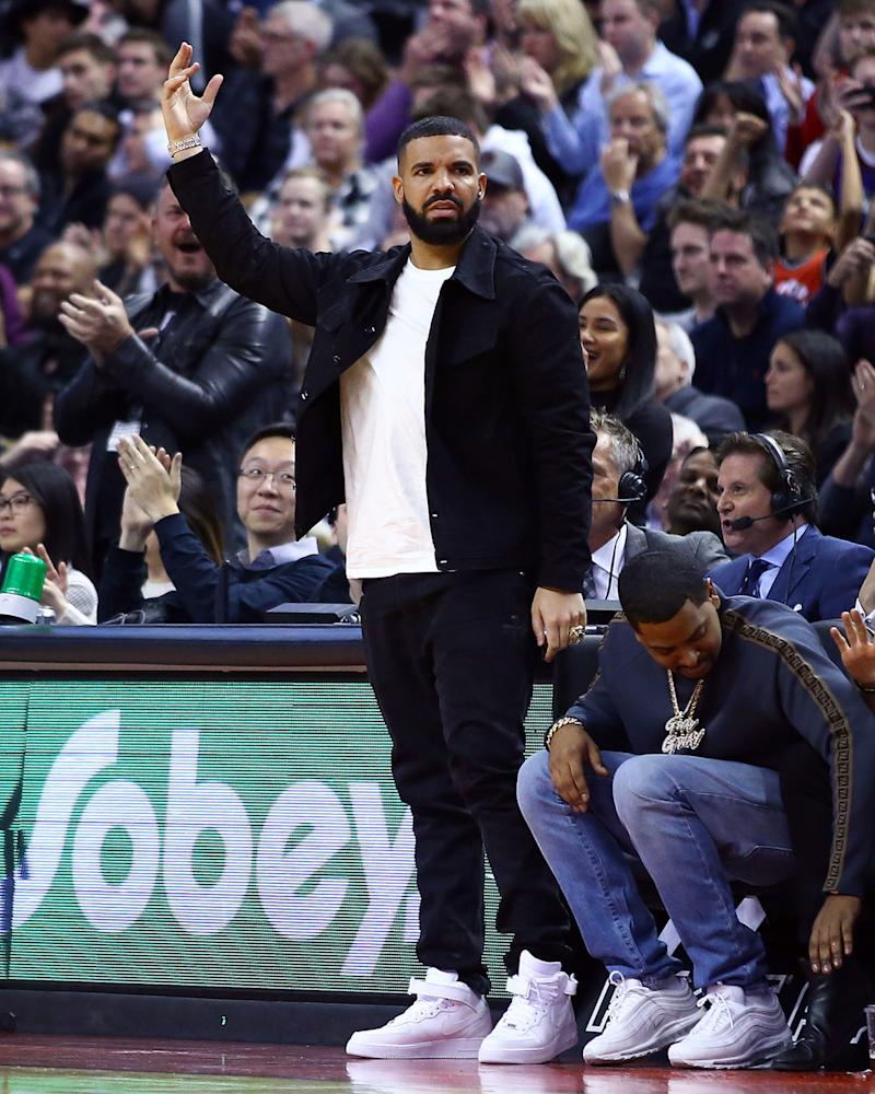 Drake's ultimate #BigFitoftheDay upgrade? Oh, you know, just a championship ring.