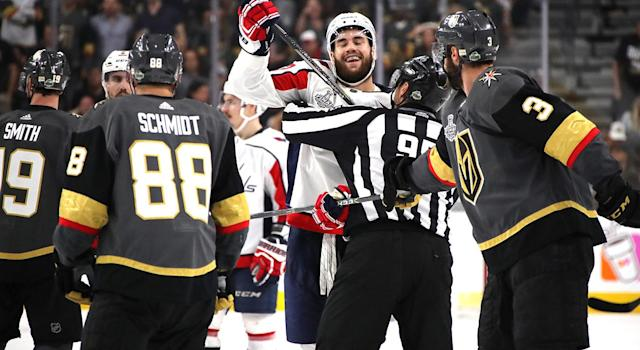 Tom Wilson needs to be stopped. (Photo by Bruce Bennett/Getty Images)