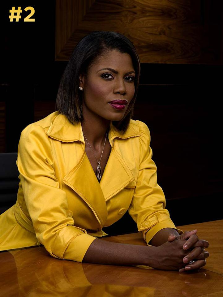 """Omarosa Manigault-Stallworth, the original diva of reality villains, started off as merely annoying on the first season of <a href=""""/the-apprentice/show/35539"""">""""The Apprentice,""""</a> and worked her way up to evil status by the end of the show. Deeming herself too good for menial tasks (but not quite good at anything other than making excuses), she ultimately cost Kwame the final win due to his inability to manage her incompetence. Following the show Omarosa made headlines when she claimed a fellow """"Apprentice"""" candidate called her the """"N"""" word, which everyone involved with the show passionately denied. She truly blossomed into legendary villain status during her run on <a href=""""/the-surreal-life/show/34995"""">""""The Surreal Life,""""</a> where she went head to head with Janice Dickinson, and behind-the-scenes footage proved that Omarosa wasn't just """"playing the role"""" of a mean girl."""