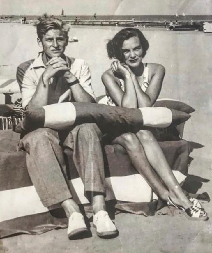 """<p>Model sisters Cara and Poppy Delevingne shared a touching picture of their grandmother posing with a 17-year-old Prince Philip in Venice. Poppy said in the caption: """"My cousins remember her saying 'That after meeting him, she thought he'd make someone a very good husband one day'. How right she was."""" Photo: Instagram/poppydelevingne</p>"""