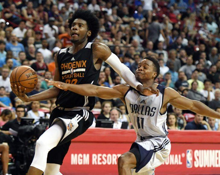 Jackson is looking forward to playing his natural position of small forward with the Suns. (AP)