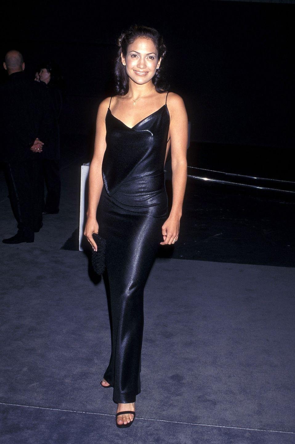 <p>At a Benefit Dinner to honour Tom Ford - who was then at Gucci - in Santa Monica, California.</p>