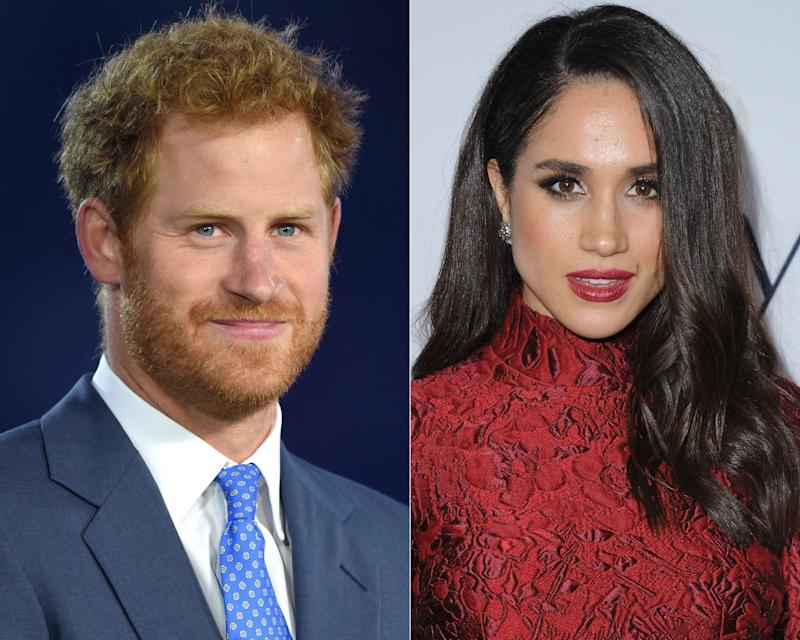 Meghan Markle meets Prince Harry in London for a blind date set up by a mutual friend.