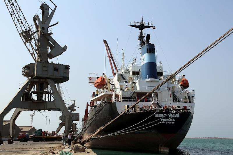 The rebel-held port of Hodeida is a key entry point for aid to war-torn Yemen