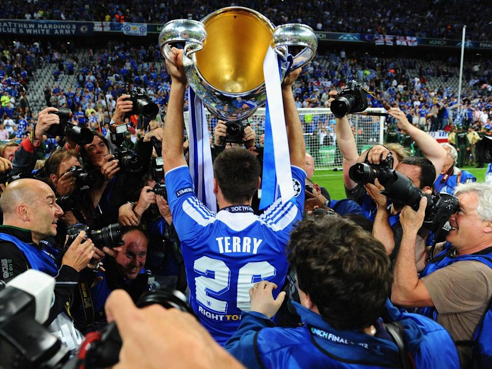 Terry was part of the Champions League-winning side of 2011/12 (Getty)
