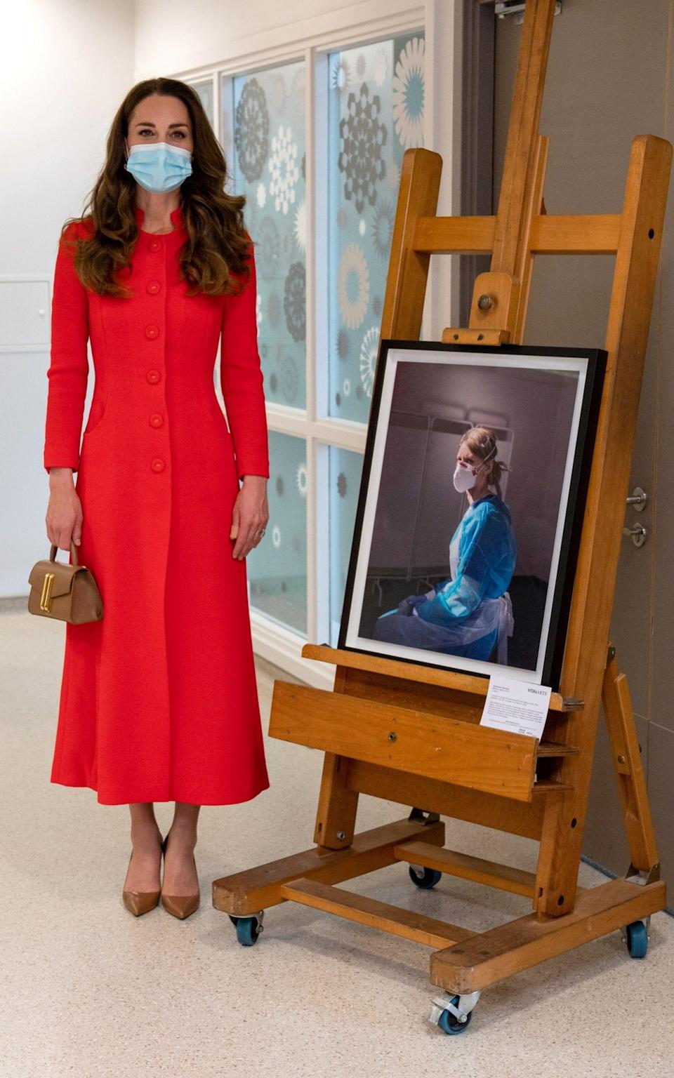 The Duchess of Cambridge on 7th May