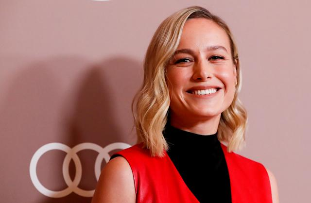 Actor Brie Larson smiles as she attends Variety's 2019 Power of Women: Los Angeles, in Beverly Hills, California, U.S., October 11, 2019. REUTERS/Mario Anzuoni