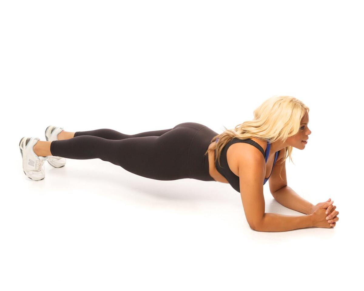 5 exercises for a flatter tummy. (Courtesy of Dr. Liza)