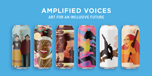 A sample of the pieces featured in the Amplified Voices Series.