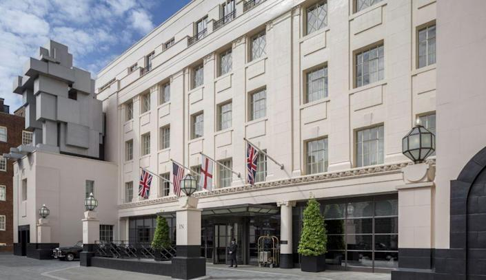 """<p>One of London's most iconic hotels is back and better than ever, thanks to a refresh from Thierry Despont and ReardonSmith Architects. <a href=""""https://www.thebeaumont.com/"""" rel=""""nofollow noopener"""" target=""""_blank"""" data-ylk=""""slk:The Beaumont"""" class=""""link rapid-noclick-resp"""">The Beaumont</a> still embodies the spirit and architecture of the grand hotels of the 1920s, when the building was first opened in a quiet garden square in the heart of Mayfair and the West End, while offering even more modern luxuries. Fans of the hotel will be excited to discover a new bar, lounge, and alfresco dining terrace, also inspired by the Roaring Twenties in design and atmosphere. The Beaumont's spa has also been enlarged for further restoration and rejuvenation. </p><p><em>The Beaumont reopens in August 2021. Nightly rates start at $579.28.</em></p>"""