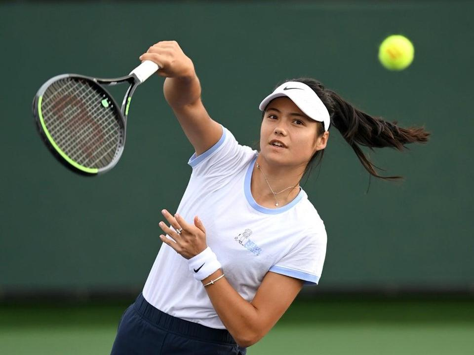 Emma Raducanu will compete in her first match since the US Open final  (USA TODAY Sports)