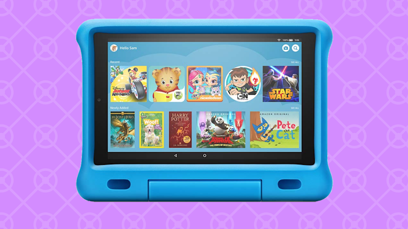 Save 25 percent on the Fire HD 10 Kids Edition! (Photo: Amazon)