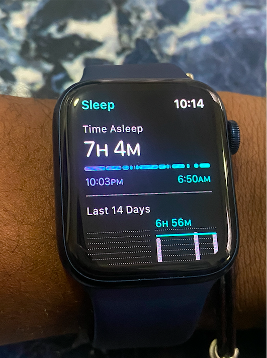 The Sleep app on Apple Watch Series 6 might reveal gaps in your slumber that you wouldn't have noticed otherwise.
