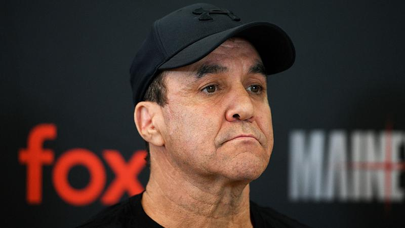 Pictured here, Jeff Fenech suffered a major heart scare in Thailand.