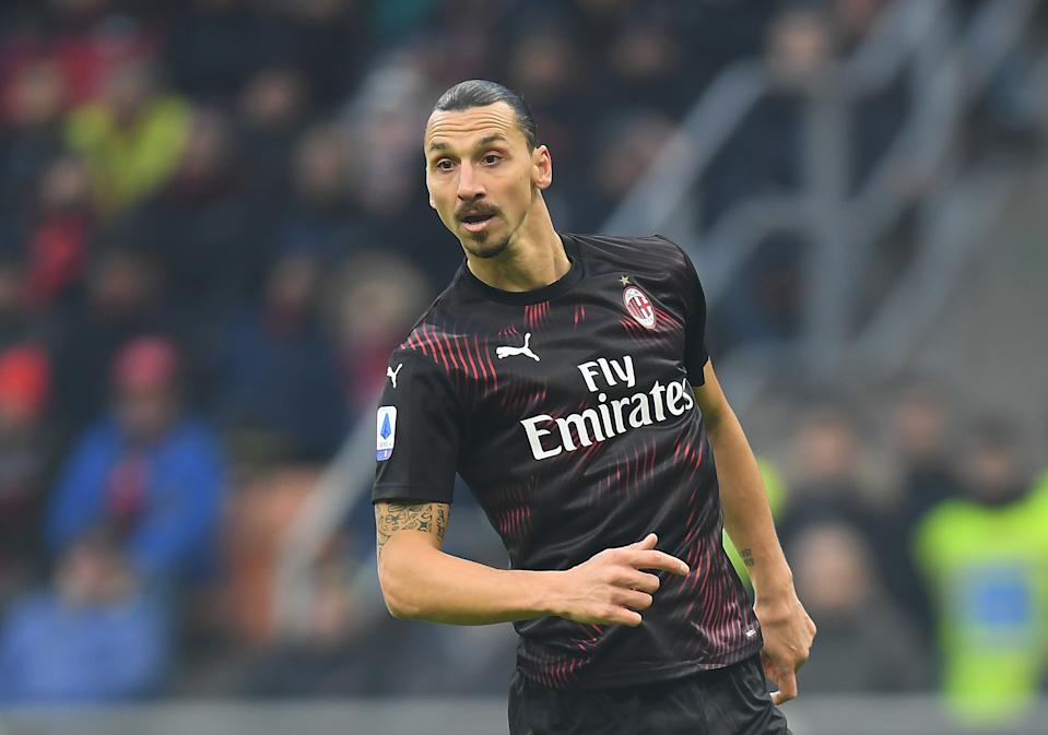Zlatan Ibrahimovic's debut with Milan wasn't the memorable moment many hoped it'd be. (REUTERS/Daniele Mascolo)