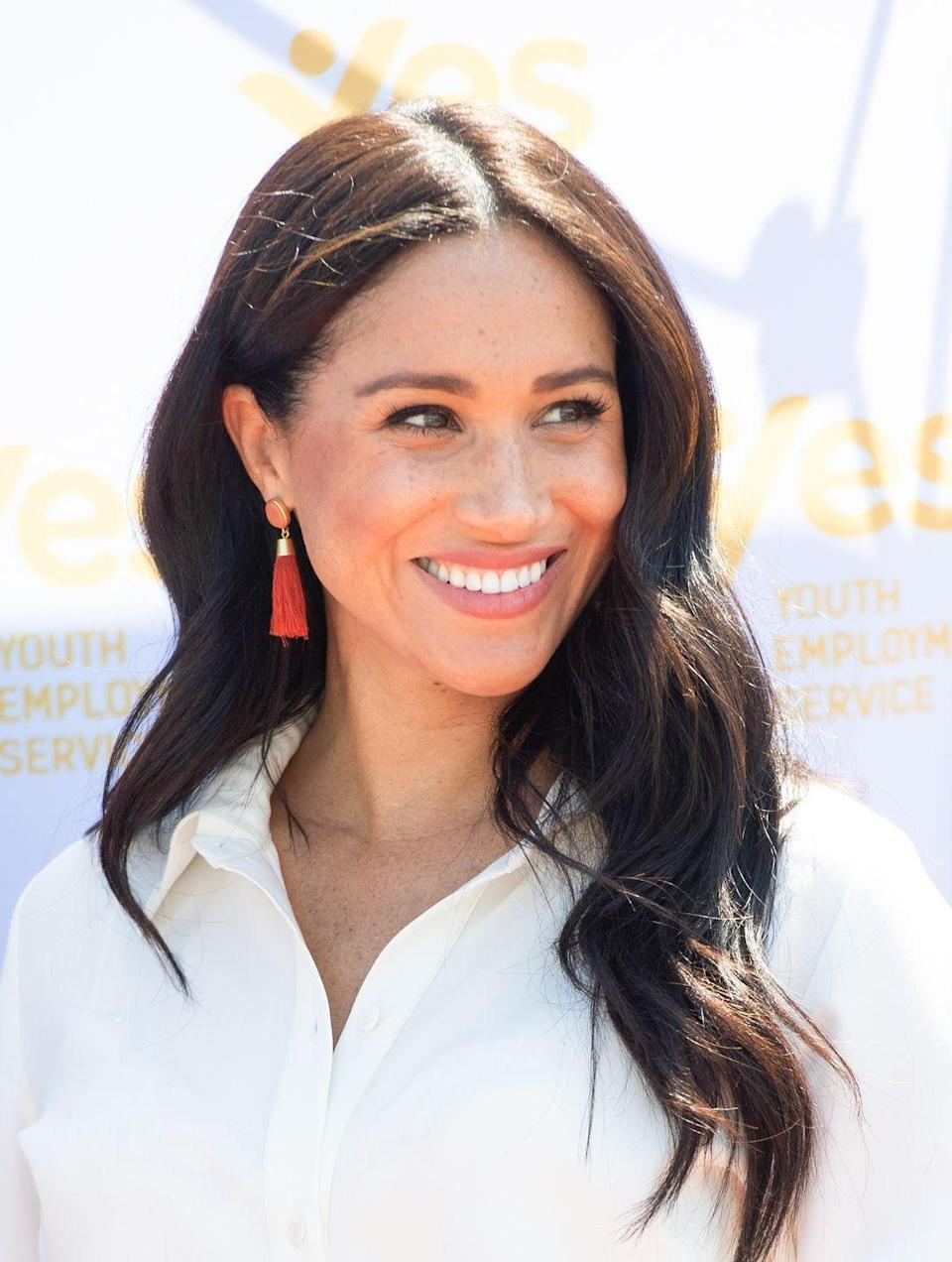 <p>If you're searching for all-over color that appears entirely natural, look to Meghan Markle for inspiration. Her soft chocolate brown shade is pretty on nearly any skin tone and is perfect for any season, says Baghaei. </p>