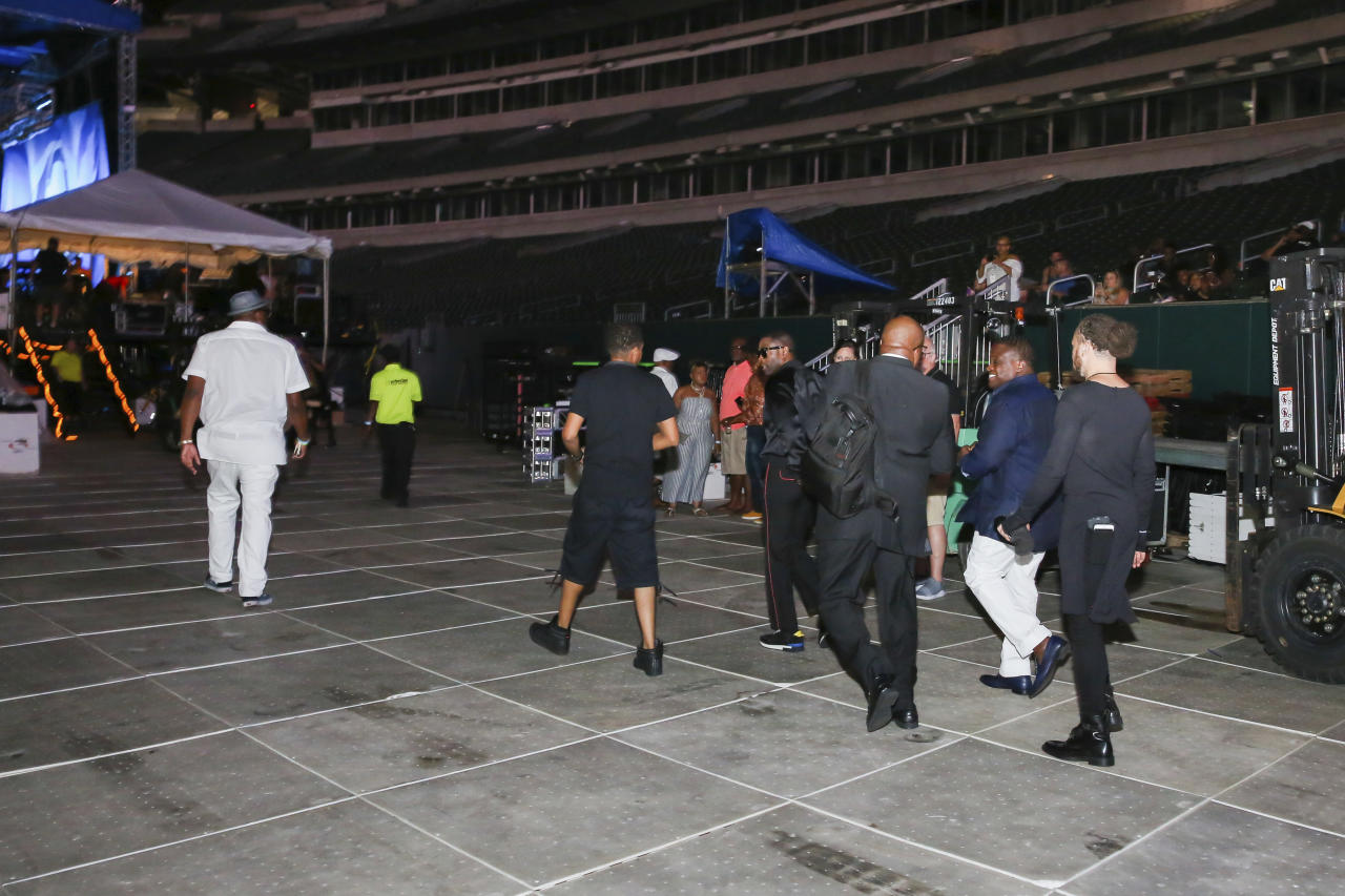 IMAGE DISTRIBUTED FOR P&G - Kem Backstage before his Performance at The Cincinnati Music Festival presented by P&G on Friday, July 28, 2017 in Cincinnati. (Photo by Matthew Allen/Invision for P&G/AP Images)
