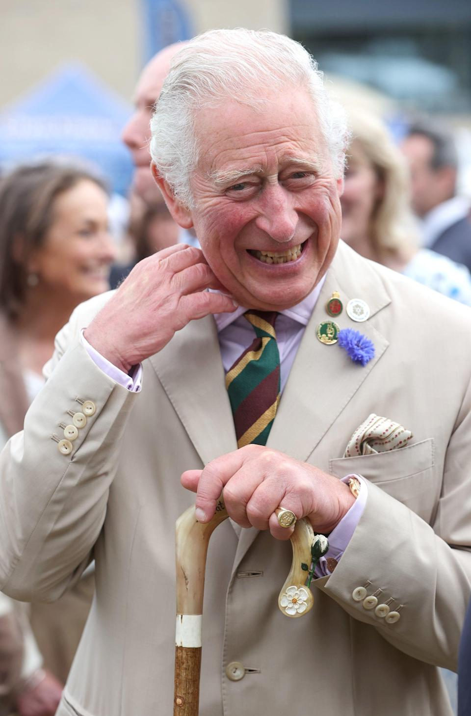 The Prince of Wales enjoyed his visit to the the Great Yorkshire Show (PA)