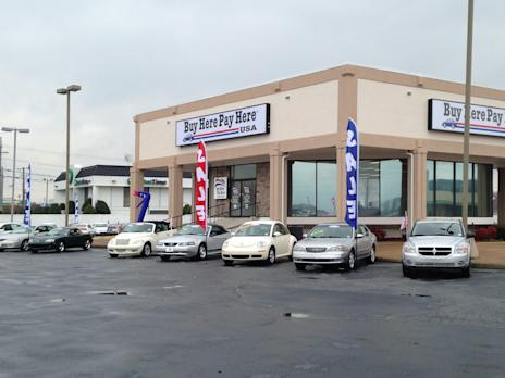 buy here pay here usa opens new dealership in chattanooga tn. Black Bedroom Furniture Sets. Home Design Ideas
