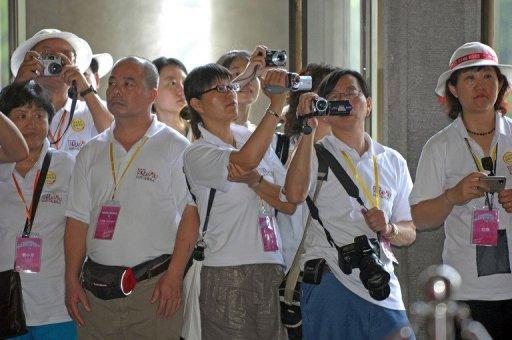 In 2011, more than 1.78 million Chinese visited Taiwan -- most of them on organised group tours