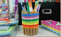 """<p>Corral your art supplies in something that's a work of art in and of itself. This could also be a nice gift for a teacher, or <a href=""""https://www.goodhousekeeping.com/holidays/mothers-day/g32126629/mothers-day-crafts-for-kids/"""" rel=""""nofollow noopener"""" target=""""_blank"""" data-ylk=""""slk:a craft for Mother's Day"""" class=""""link rapid-noclick-resp"""">a craft for Mother's Day</a> or <a href=""""https://www.goodhousekeeping.com/holidays/fathers-day/g19694848/fathers-day-crafts-preschool/"""" rel=""""nofollow noopener"""" target=""""_blank"""" data-ylk=""""slk:Father's Day"""" class=""""link rapid-noclick-resp"""">Father's Day</a>.</p><p><a href=""""https://www.craftprojectideas.com/woven-basket-2/"""" rel=""""nofollow noopener"""" target=""""_blank"""" data-ylk=""""slk:Get the tutorial at Craft Project Ideas »"""" class=""""link rapid-noclick-resp""""><em>Get the tutorial at Craft Project Ideas »</em></a></p>"""