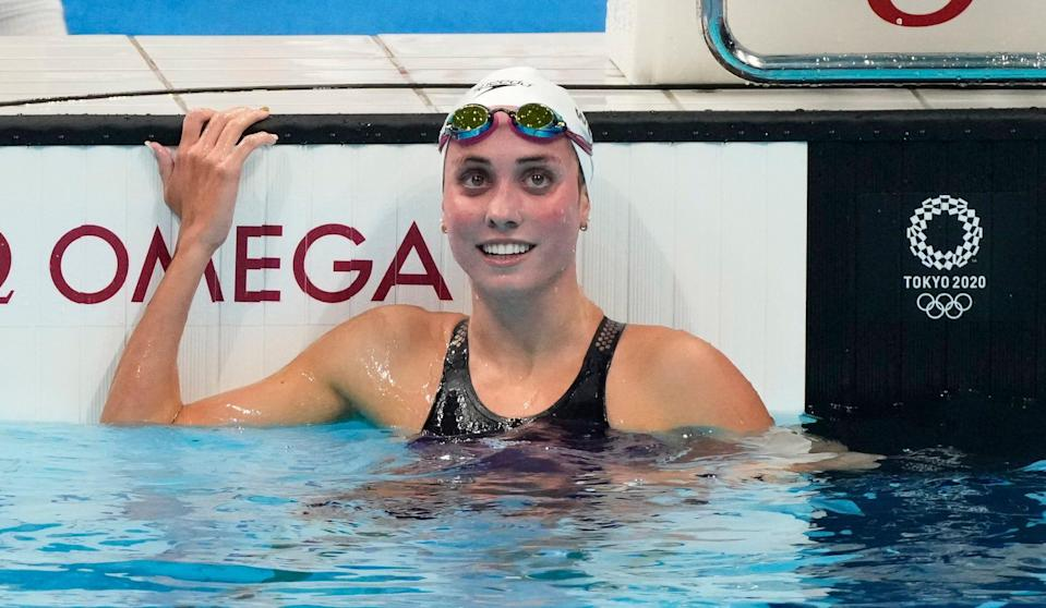 Weyant during the 400 IM heats on Saturday.