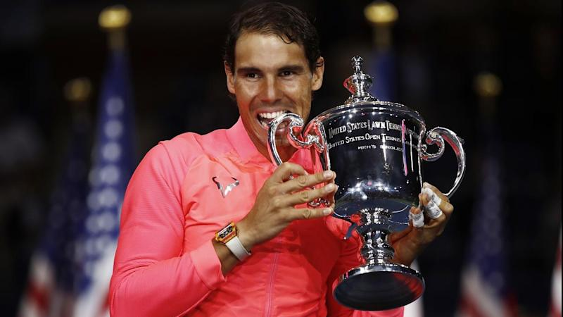 Rafael Nadal has won his 16th grand slam title, beating Kevin Anderson in the US Open final