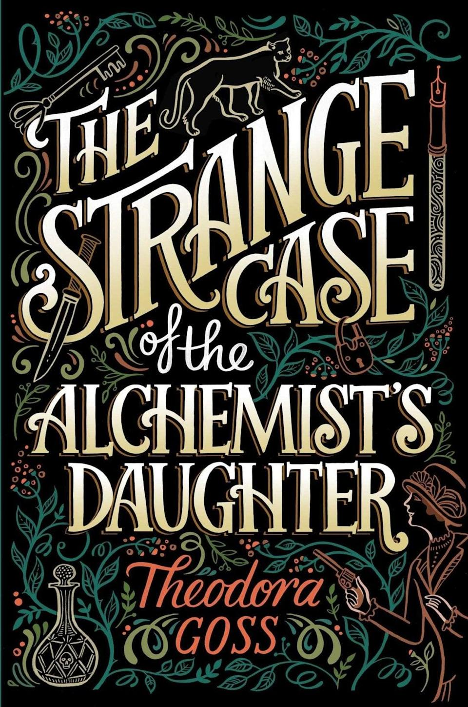 """<p>Theodora Gross's <span><strong>The Strange Case of the Alchemist's Daughter</strong></span> is a monster mashup for people who aren't really into monsters. The daughters of Mr. Jekyll, Dr. Frankenstein, Mr. Moreau, and Rappaccini team up with Sherlock Holmes and Dr. Watson to solve mysteries in London. This is a rollicking read with all of the spooky fun of <a class=""""link rapid-noclick-resp"""" href=""""https://www.popsugar.com/Halloween"""" rel=""""nofollow noopener"""" target=""""_blank"""" data-ylk=""""slk:Halloween"""">Halloween</a> minus the actual scares.</p>"""