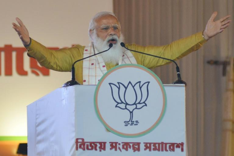 Prime Minister Narendra Modi is pushing hard to win power for the first time in West Bengal