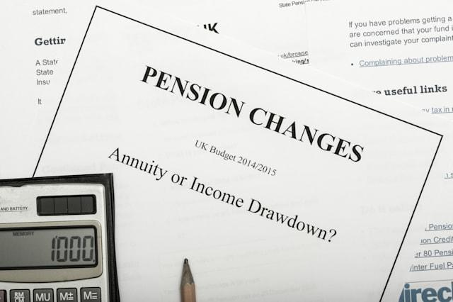 pension change documents ...