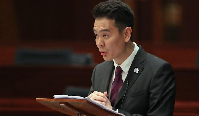 Holden Chow says there is nothing wrong with commenting on judgments and verdicts. Photo: K. Y. Cheng