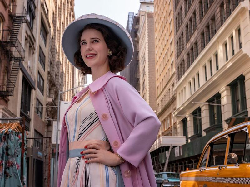 Rachel Brosnahan as Midge Maisel | Amazon Studios
