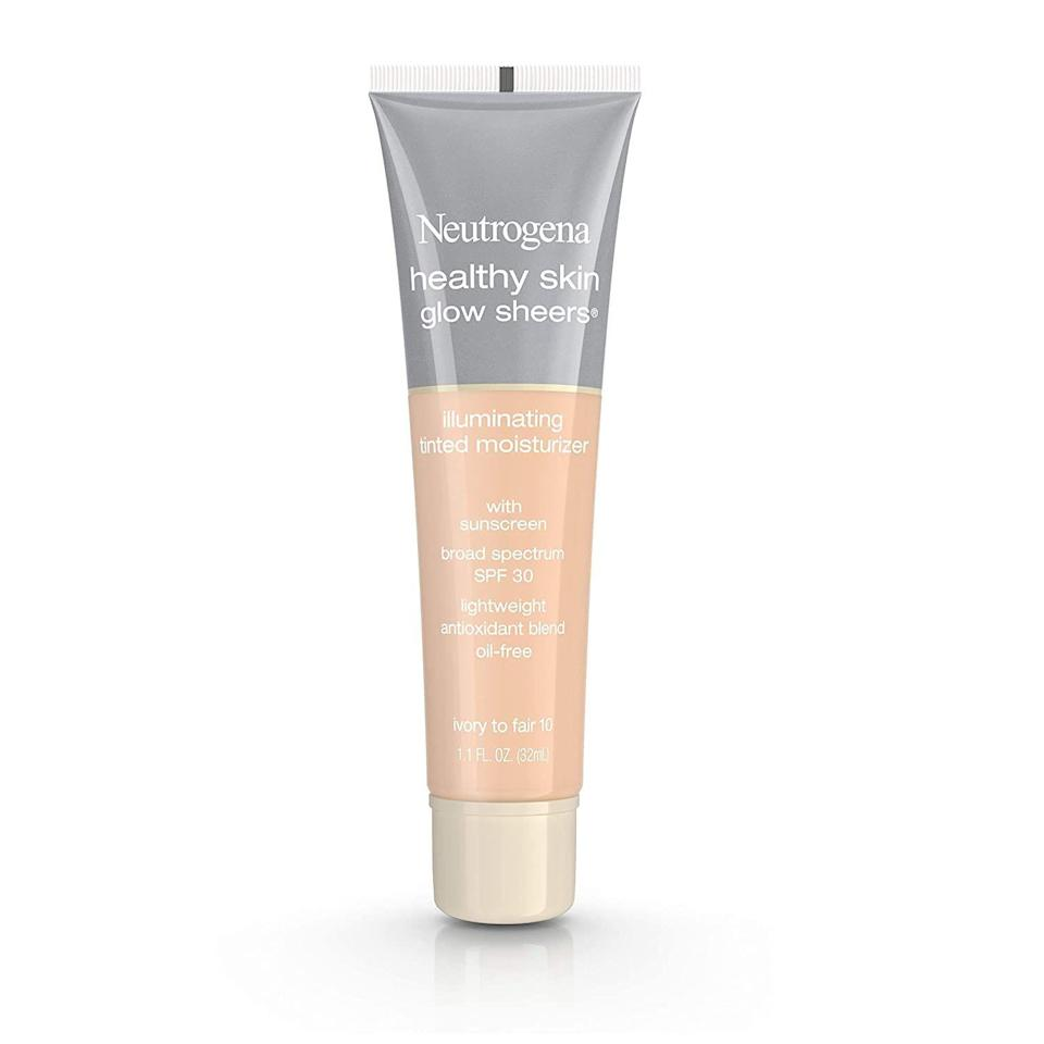 "<p><strong>Neutrogena</strong></p><p>amazon.com</p><p><strong>$17.93</strong></p><p><a href=""https://www.amazon.com/dp/B00JZ05UPG?tag=syn-yahoo-20&ascsubtag=%5Bartid%7C10072.g.33431155%5Bsrc%7Cyahoo-us"" rel=""nofollow noopener"" target=""_blank"" data-ylk=""slk:SHOP NOW"" class=""link rapid-noclick-resp"">SHOP NOW</a></p><p>If you're worried that the added hydration may clog your pores, stick to an oil-free formula, like this one by Neutrogena, says Jaliman. It's an excellent pick for anyone with oily skin who needs a daily SPF, too.</p>"