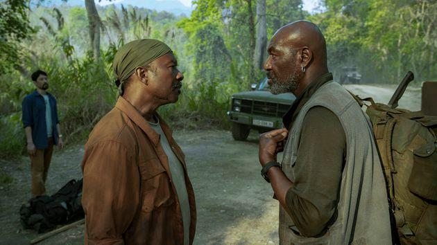 Clarke Peters and Delroy Lindo in