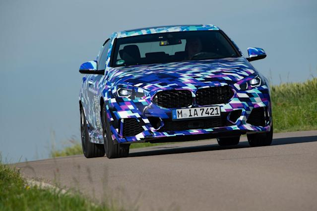 View Photos of the 2020 BMW 2-series Gran Coupe Prototype