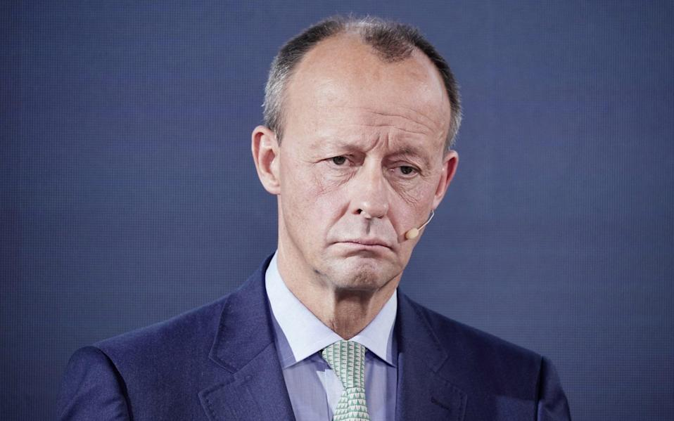 Friedrich Merz, a millionaire businessman, said there was a 'Stop Merz' campaign within the CDU - Reuters