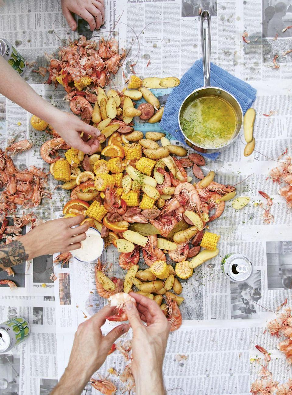 """<p>Want to feast dad in casual style? Make him this classic Louisiana-style outdoor feast. </p><p><strong><a href=""""https://www.countryliving.com/food-drinks/a35865367/low-country-shrimp-boil-recipe/"""" rel=""""nofollow noopener"""" target=""""_blank"""" data-ylk=""""slk:Get the recipe"""" class=""""link rapid-noclick-resp"""">Get the recipe</a>.</strong></p>"""