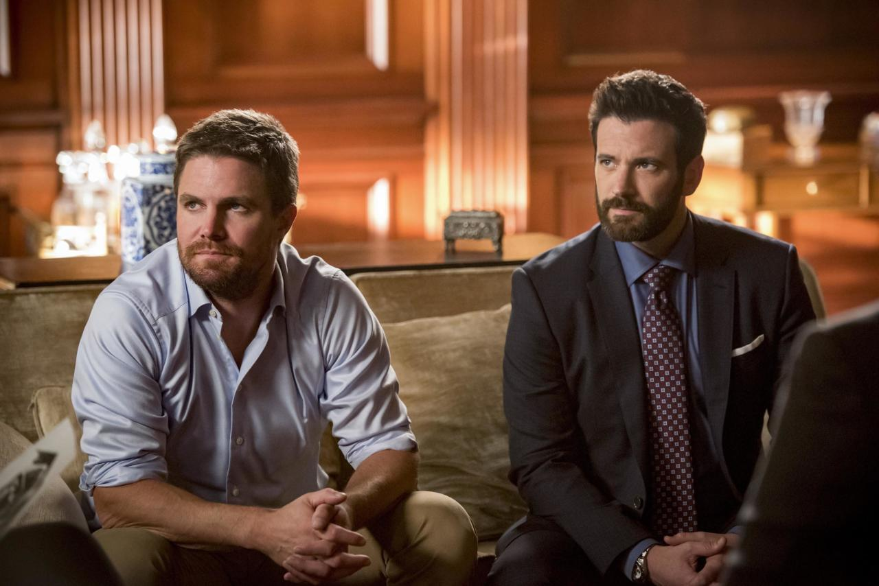 "In <em><a href=""https://ew.com/creative-work/arrow/"" target=""_blank"">Arrow'</a>s</em> seventh season, Oliver Queen (Stephen Amell) saved his city. Now, it's time for him to save the multiverse. In The CW superhero drama's <a href=""https://ew.com/comic-con/2019/07/17/arrow-final-season-cover-story/"" target=""_blank"">eighth and final season</a>, the Green Arrow will embark on a mission for the Monitor (LaMonica Garrett) and encounter some familiar faces along the way to the <a href=""https://ew.com/tv/2019/07/26/arrowverse-crisis-on-infinite-earths-crossover-everything-we-know/"" target=""_blank"">""Crisis on Infinite Earths"" crossover</a>. Click through to see the new photos from the season.   <em>Arrow </em>returns Tuesday, Oct. 15 on The CW."