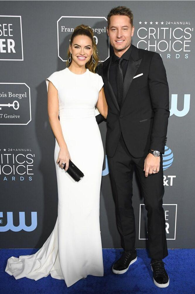 Chrishell Stause and Justin Hartley | Steve Granitz/WireImage